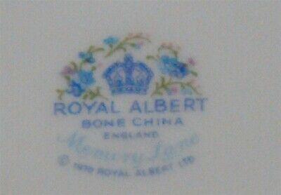 Royal Albert Memory Lane Cream & Sugar England ( 3 Available ) 4