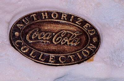 "Coca Cola Heritage Collection, Cavanaugh ""Bear Play"" Polar Bear, play w Dad 1995"