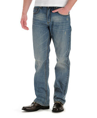 47e7dd5f ... NWT Lee Men's Modern Series Relaxed Boot cut Jeans Comfort and  Durability Denim 3