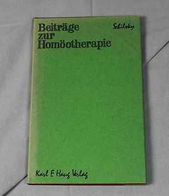Beiträge zur Homöotherapie - Sammlung Puplikationen v. Dr. B.Schilsky 1966 /S196 2