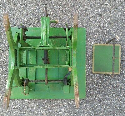 Alte Dezimalwaage/Krämerwaage  Fabrikat um 1910 Farbe  Grün 7