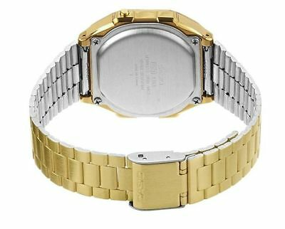 Casio Unisex Gold Tone Stainless Steel Digital Light Alarm Metal Watch A168Wg 5