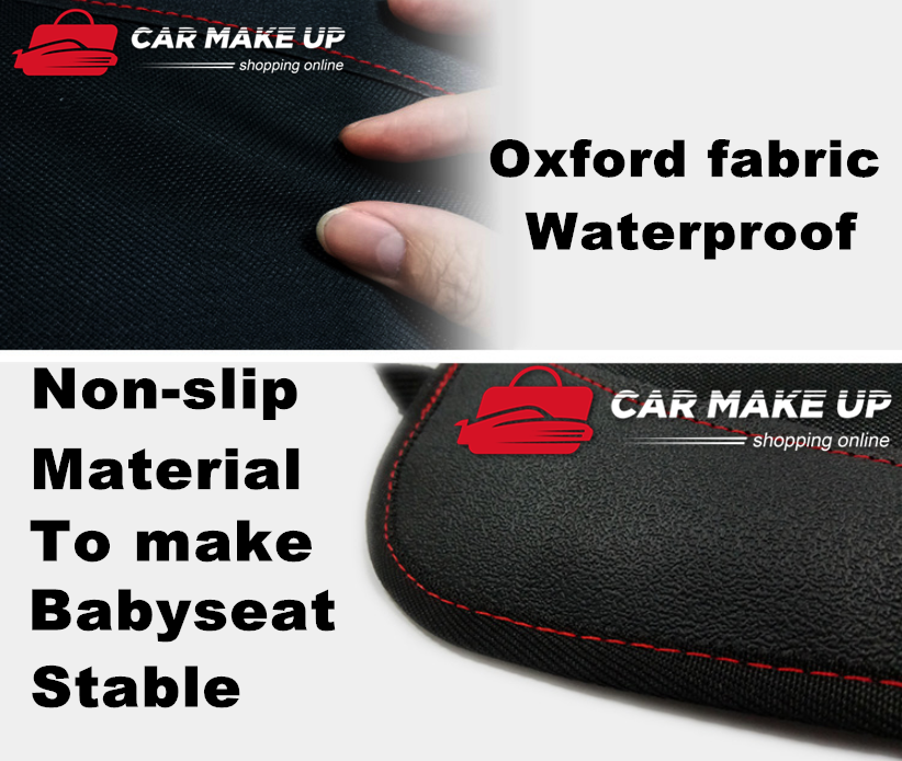 Extra Large Car Baby Seat Protector Cover Cushion Anti-Slip Waterproof Safety 7