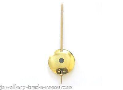 "2.5"" Brass & Lead Clock Pendulum Bob + Rod Spares & Repairs Fusee / Office Dial"