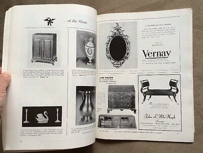 Rare ANTIQUES  Magazine from January 1960 Vol. LXXVII, No. 1 Collector's Guide 12