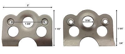 50 Lightweight Dzus Plates  #1021