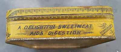 Old Advertising Tin Rich's Crystallized Canton Ginger EC Rich NY 3