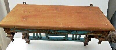 Reclaimed shabby chic Wooden Rack kitchen / bathroom lintel Wood top decor tile 5