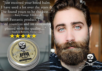Whiskey on Rocks Beard Balm BIG 30ml Leave-In Beard Taming Styling Conditioner