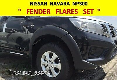 1 Of 6FREE Shipping Fender Flares Painted For Nissan Frontier Navara Np300  2014