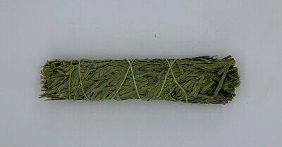 1 Cedar Sage Smudge Stick / Wand - House Cleansing Negativity Removal 2