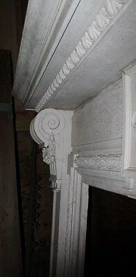 Spectacular Massive Fireplace Mantel Mantle #2 from NY Mansion Palace 4