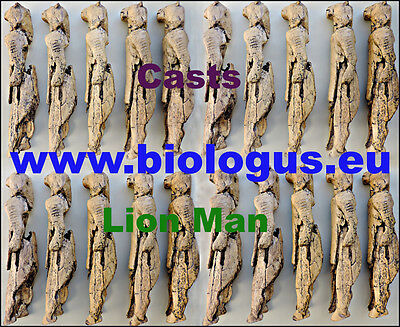 Lion Man / Löwenmensch  Paleolithic figurine - cast of resin