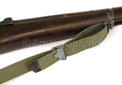 M1 Garand Sling OD Green Cotton Web for USGI 1903 Mil Civ WWII Korea *US Made* 4
