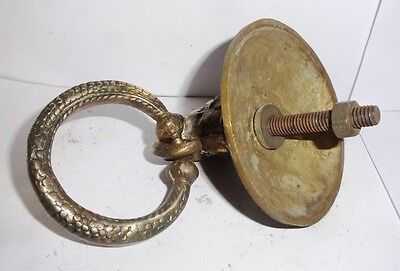Vintage Brass Sand Cast Decorative Royal Crafting Work Door Handle/ Pulls India 3