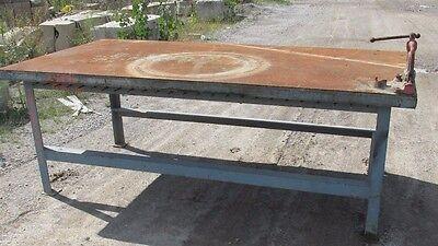 Astounding Steel Work Bench Welding Table Pipe Vise 4X8X35 1 2 Andrewgaddart Wooden Chair Designs For Living Room Andrewgaddartcom