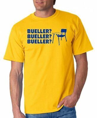 Bueller Bueller Bueller T-shirt Ferris Movie S-3XL 3