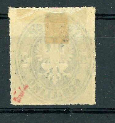 Lübeck: Mi.Nr.11A * (Falzrest), sign. Drahn. Mi: 160,-