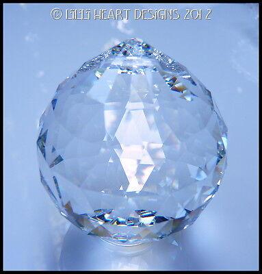 SWAROVSKI CRYSTAL 60mm BEST HANGING BALL Rainbow Maker Lilli Heart Designs 8