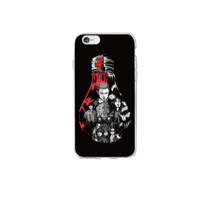 COVER STRANGER THINGS Iphone 6 6S Custodia Morbida Apple - EUR 5