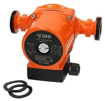 "Umwälzpumpe IBO OHI 25 180mm  Heizungspumpe 1.1//2/"" Trinkwasserpumpe  TOP"