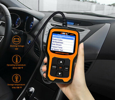 Ancel OBD2 EOBD Car Fault Code Reader Scanner Diagnostic Auto Engine Scan Tool 6