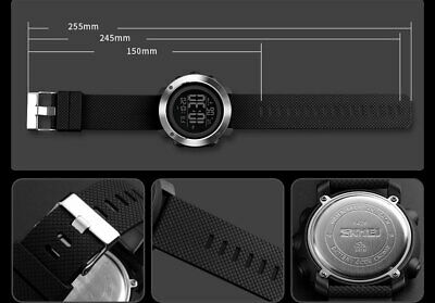 SKMEI Watch Mens/Womens Watches Waterproof Sport Outdoor LED Digital Wristwatch 12