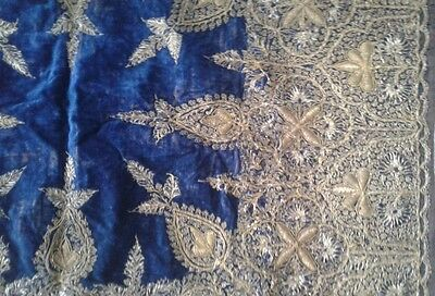 Antique Turkish Hand Made Textile 100- 150 Years Old 5