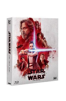 Star Wars: The Last Jedi (2018, Blu-ray) Full Slip Case Steelbook / 2D & 3D