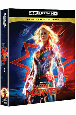 Captain Marvel - 4K UHD & Blu-ray Steelbook Full Slip Case Edition (2019) 6