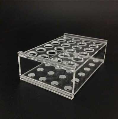 5Ml Centrifuge Tubes 14mm Dia Test Tube Plastic Rack Stand 24 Holes 2