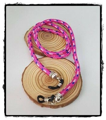 (R-1962) Cordón Colgante Cinta Gafas En Cordón Marinero Topes Silicona