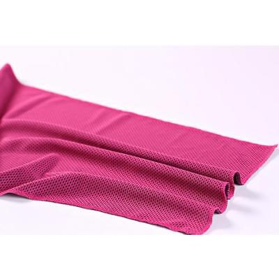 Ice Cold Enduring Running Jogging Gym Chilly Pad Instant Cooling Towel Sports 10