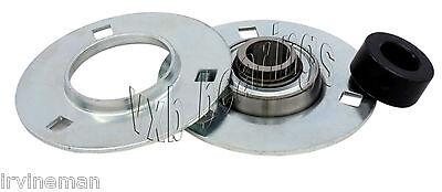 FHPFZ207-20 Flange Pressed Steel 3 Bolt 1 1//4 Inch Ball Bearings