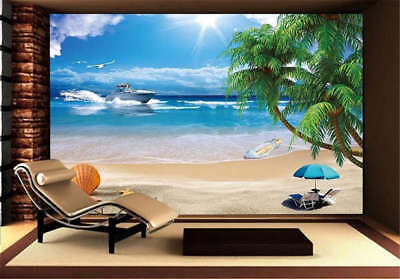 Quiet Concise Ocean 3D Full Wall Mural Photo Wallpaper Printing Home Kids Decor