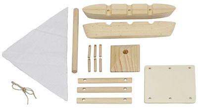 Katamaran Bausatz Holz Zum Bemalen Spielen Für Kinder Basteln Boot