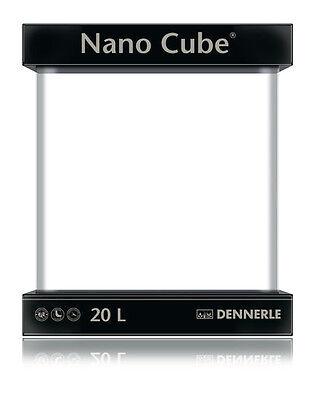 Dennerle Nano Cube Aquarium Basic Tank Set 20L LED Light & Filter 2018 Model