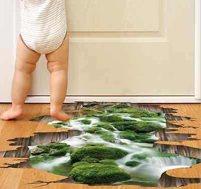 Badezimmer Boden 3d Aufkleber Schlafzimmer Kinder Zimmer Deko Wandtattoo Sticker