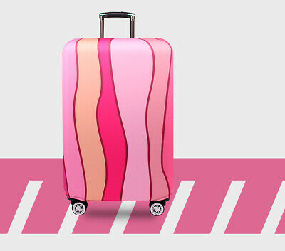 """18""""-32"""" Travel Suitcase Luggage Cover Protector Elastic Anti-scratch Dustproof 3"""