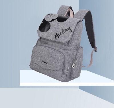 DISNEY Mickey Minnie Baby Maternal Stroller Maternity Nappy Bag 2
