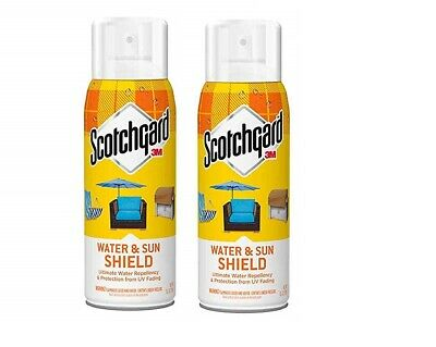 1 TO 3 3M Scotchgard Water and Sun Shield with UV Protector 10.5-Ounce EACH 11