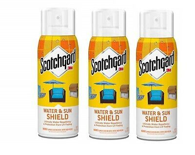 1 TO 3 3M Scotchgard Water and Sun Shield with UV Protector 10.5-Ounce EACH 12
