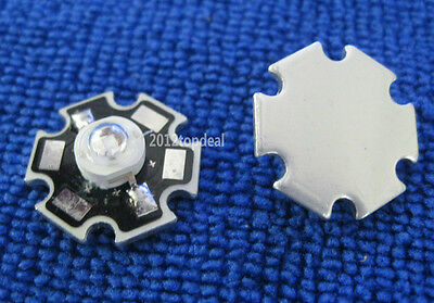 50pcs 3W UV 417-420nm LED ultraviolet LED High Power bead with 20mm star base