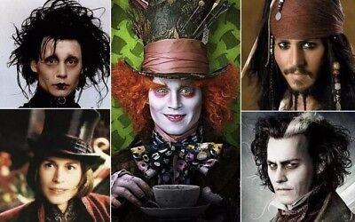 "A VERY YOUNG Johnny Depp Life Mask Cast ""Cap Jack Sparrow ""Edward  Scissorhands"