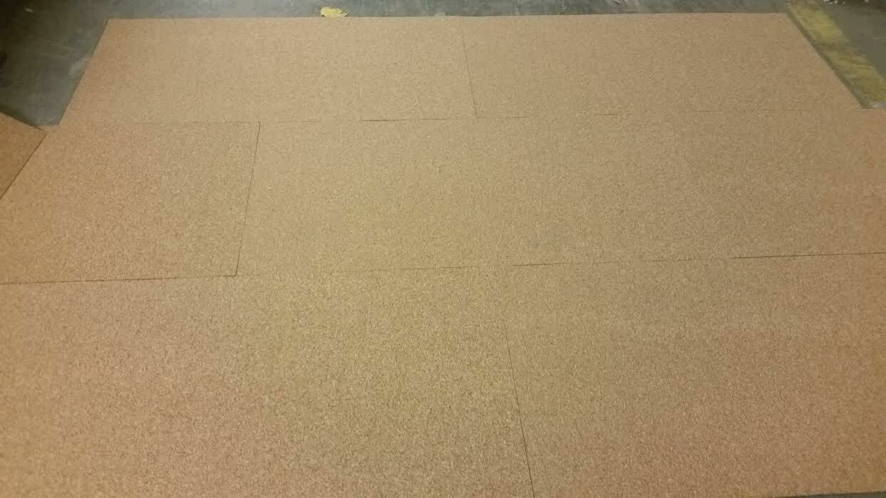 10 mm Stärke 10 x Korkplatte 100 x 50 x 1 cm Baustelle Unterlage Isolierung
