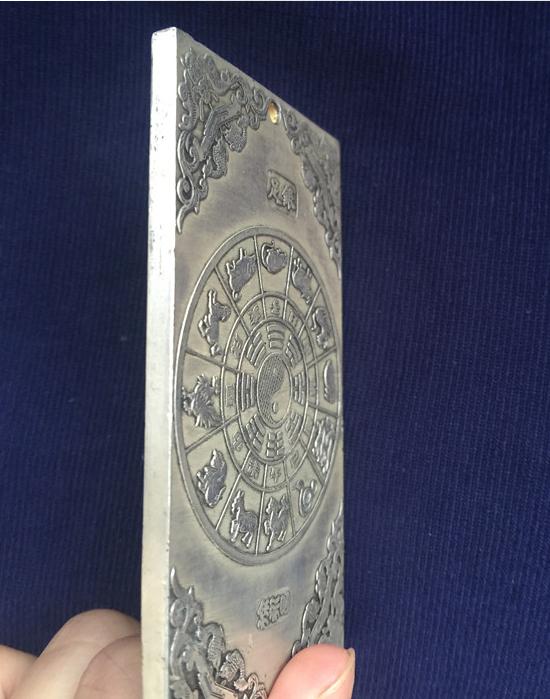 collectibles Old Chinese kuan-yin tibet Silver Bullion thanka amulet  Pendants 2