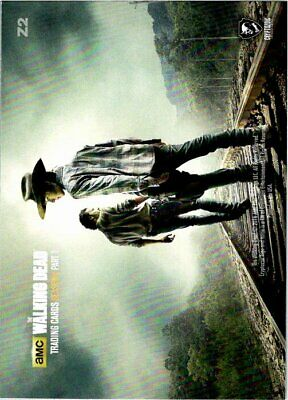 The Walking Dead Season 2 Foil Puzzle Chase Card #4