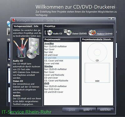Cd Dvd Druckerei 8 Kompatibel Zu Data Becker Download