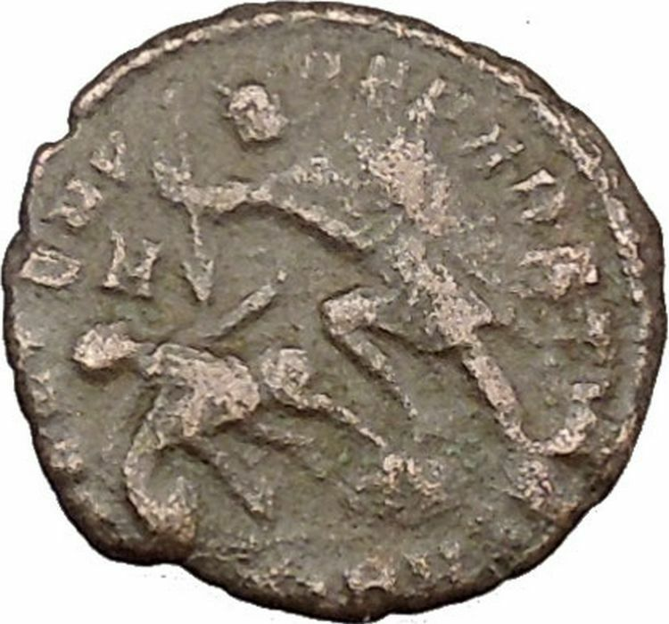 Julian II as Caesar 355AD Authentic Ancient Roman Coin Battle Horse man i39102