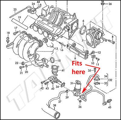 042 AGR Verschlussplatte für VW Audi Skoda Seat Benzinmotor 1.4 1.6 1.8 2.0